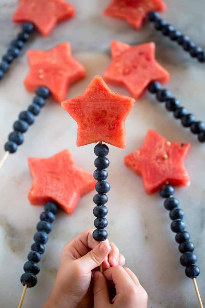 fruit fairy wands
