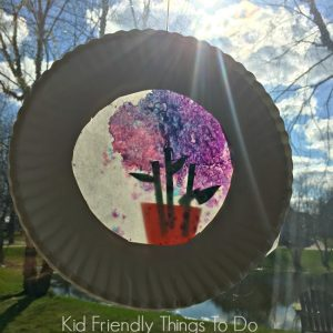 How To Make A Melted Crayon Flower Pot Sun Catcher – Craft