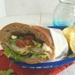 Cobb Salad Sub Sandwich Recipe - The perfect hoagie - KidFriendlyThingsToDo.com