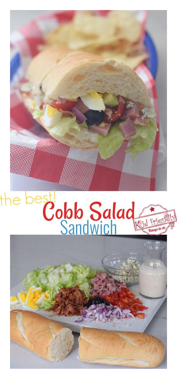the best cobb salad sandwich