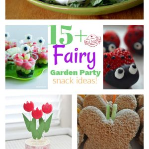 Fairy Garden Party Snack Ideas