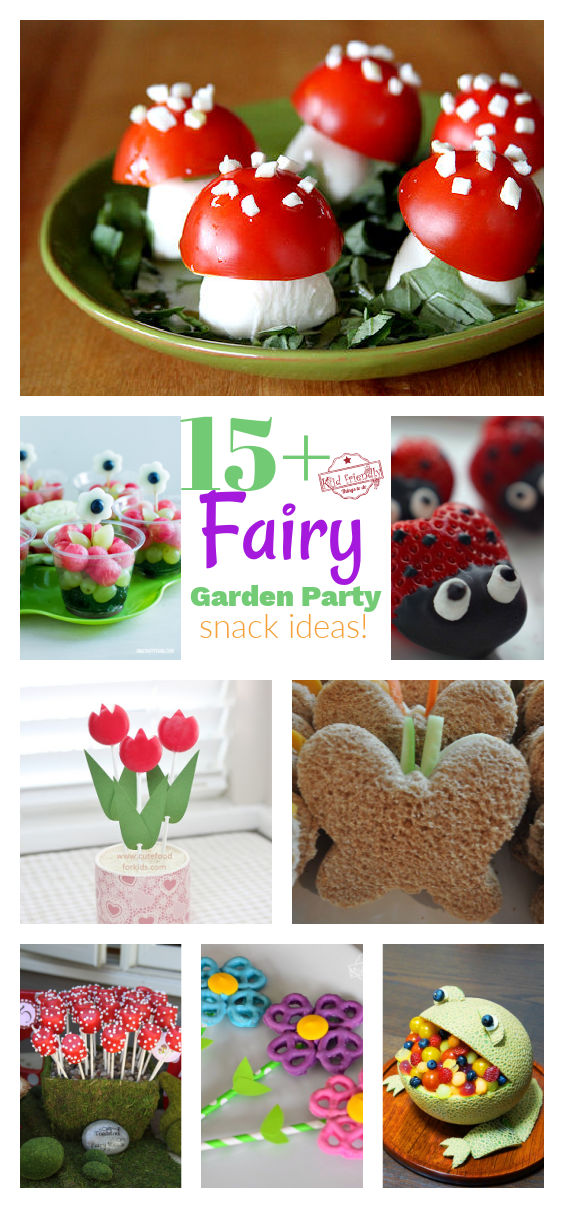 Over 15 Fairy Garden Party {Snack Ideas!}