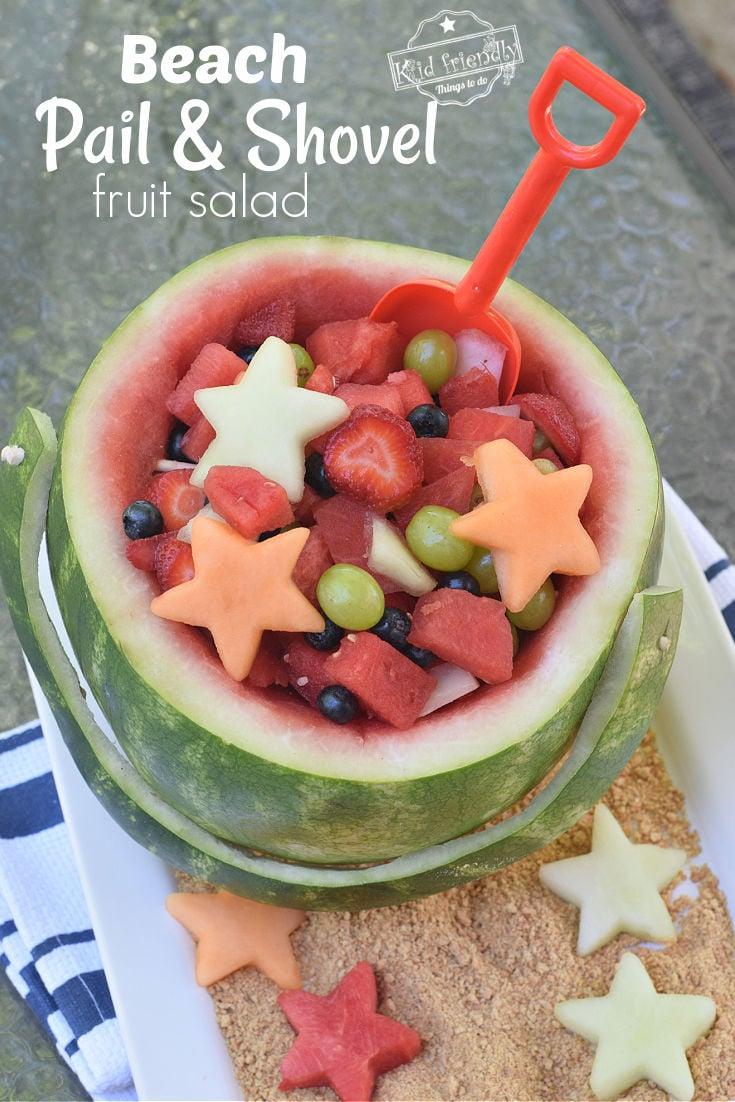 summer watermelon fruit bowl