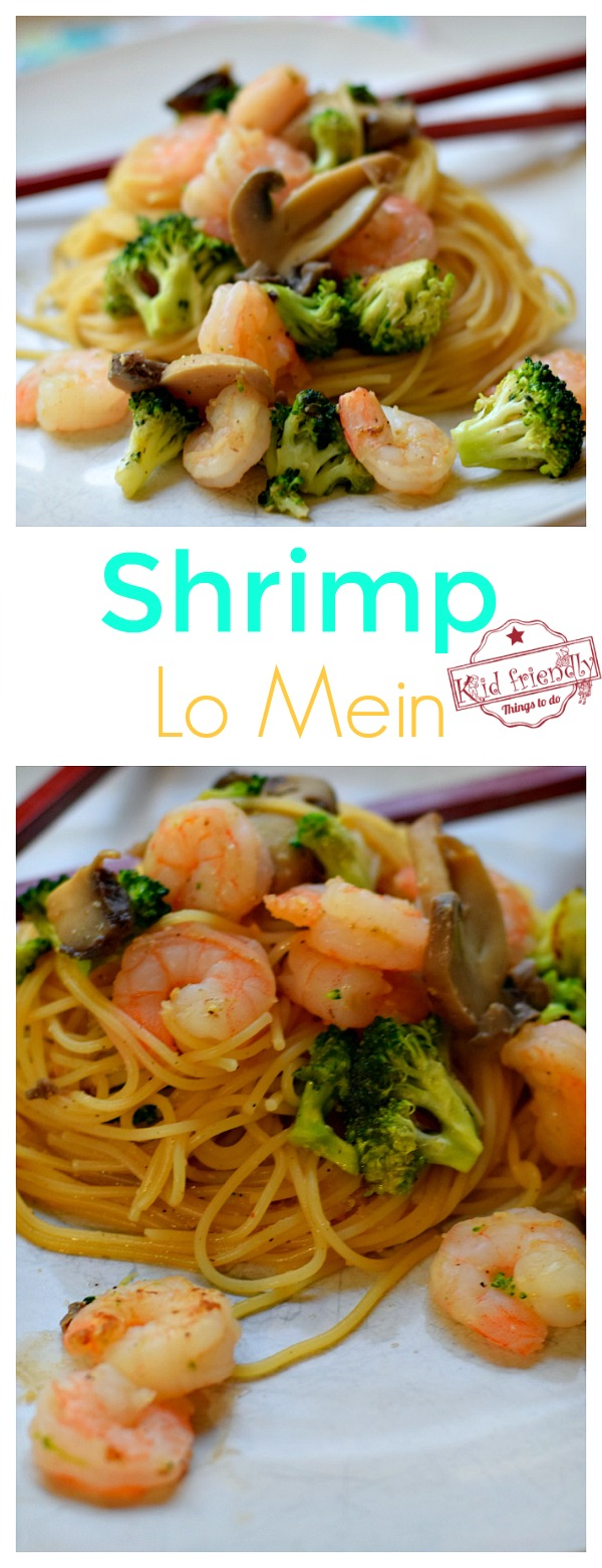 shrimp lo mein recipe made at home