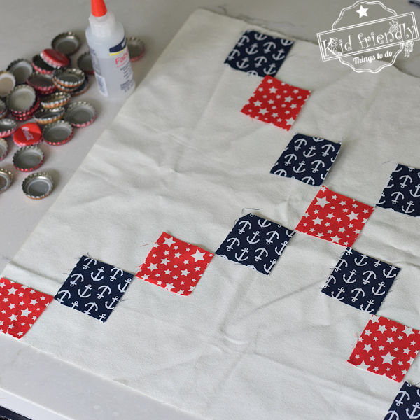 making checkerboard for travel