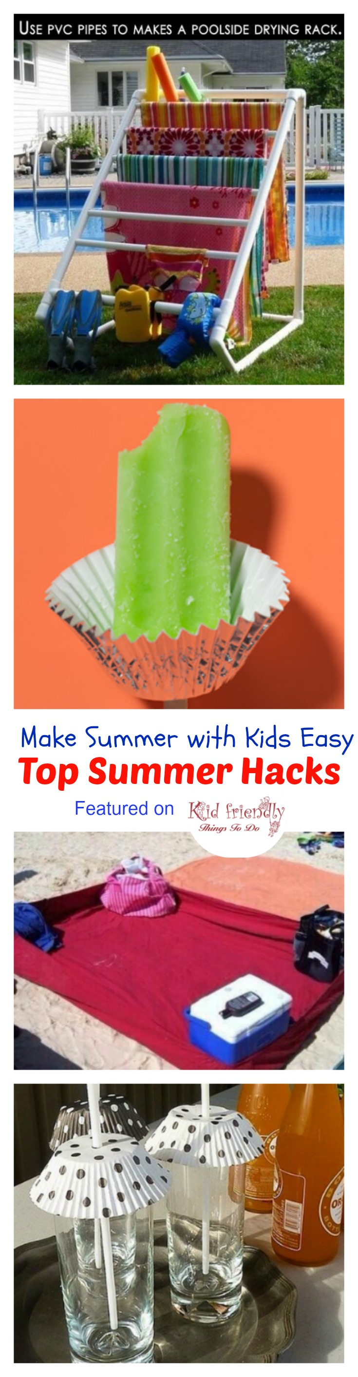 Top Summer Parenting Hacks - KidFriendlyThingsToDo.com