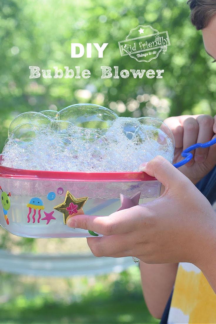 bubble blower for kids