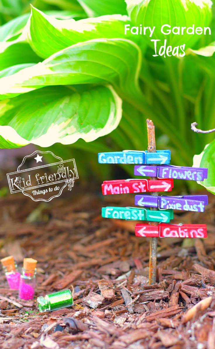 Over 15 Fairy Garden Ideas For Kids In The