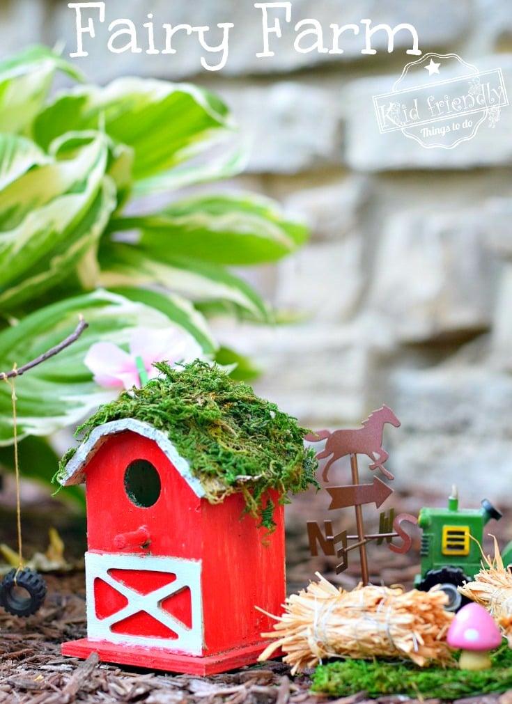 Over 15 Fairy House Garden ideas for kids in the garden! DIY - www.kidfriendlythingstodo.com