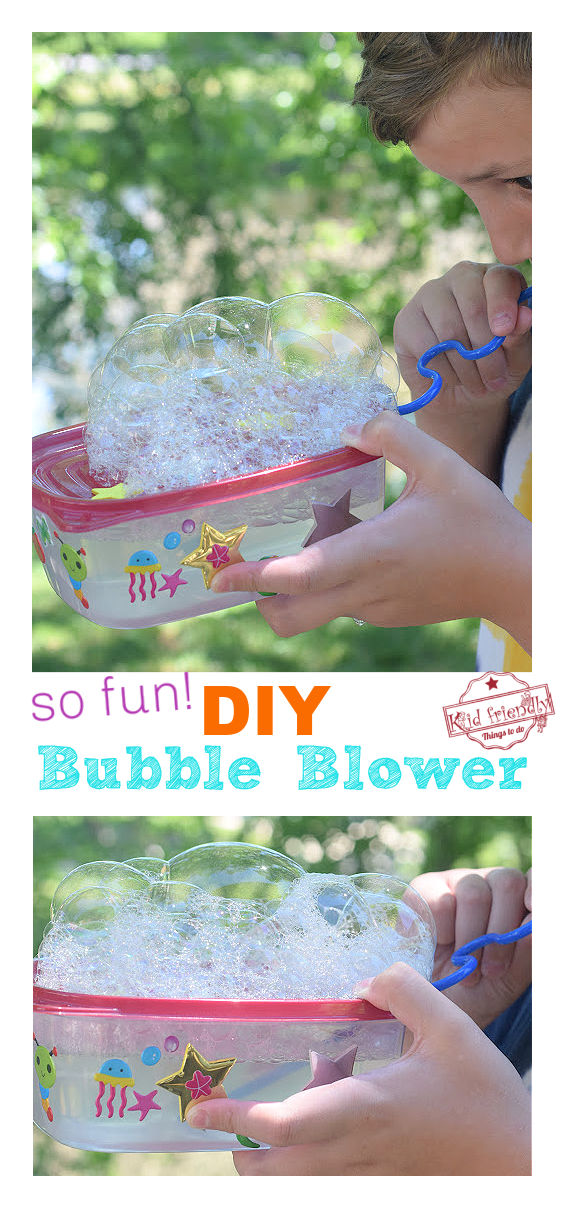 bubble blower for kids craft