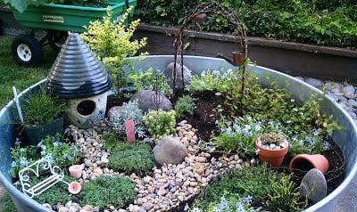 Outdoor Miniature Fairy Garden Ideas