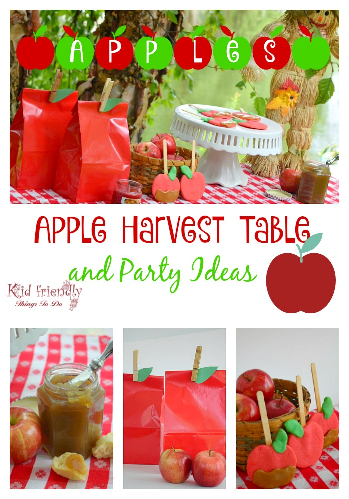 A Fall Apple Themed Harvest Party Recipes Crafts Games More