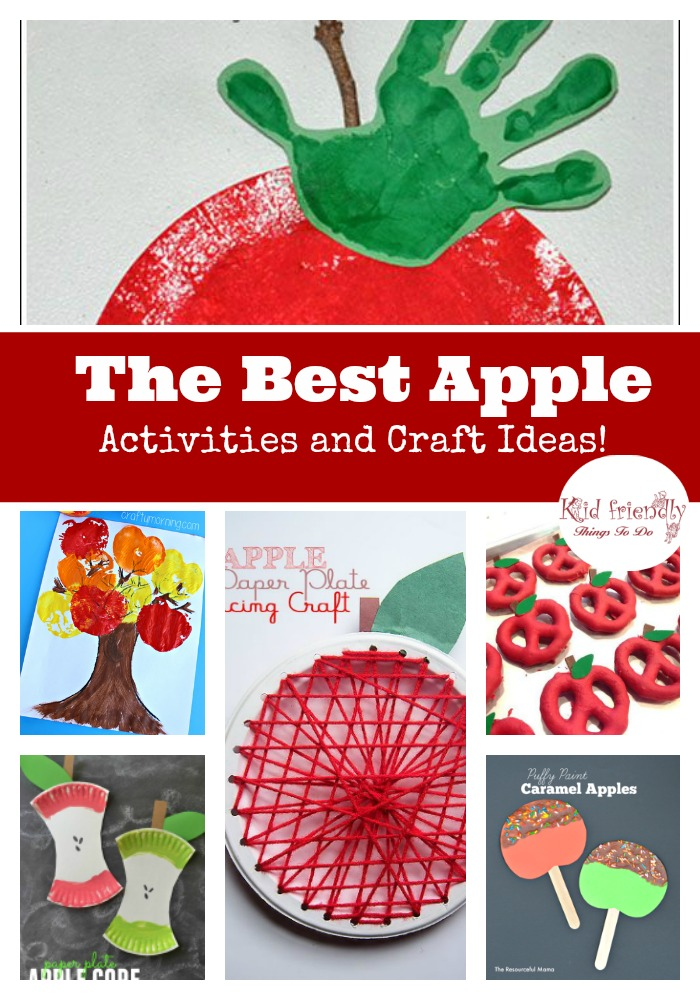 apple craft ideas the best apple activities and craft ideas 1055