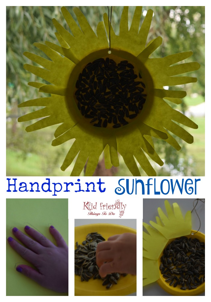 Easy to make Paper Plate Sunflower Craft for Kids. Perfect for fall, summer, preschool, school, Mother's Day or any day! www.kidfriendlythingstodo.com