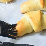 buttered crescent roll