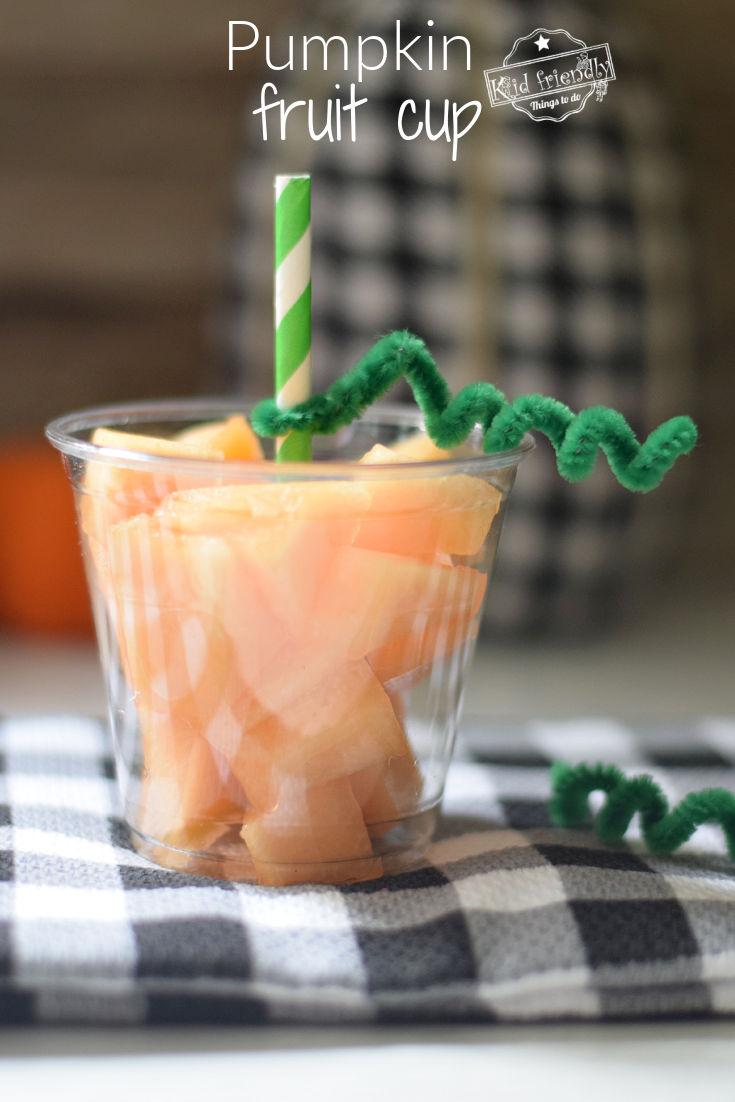 pumpkin fruit cup idea