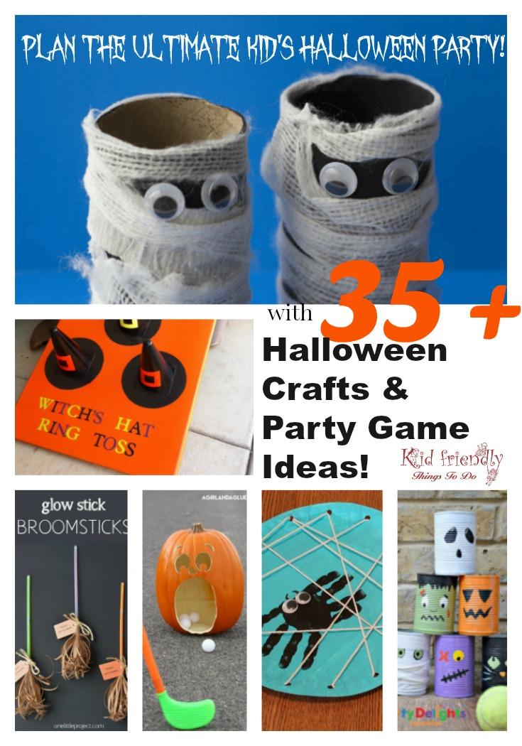 Halloween Kids Games.35 Halloween Crafts And Games For Kids