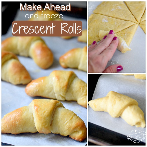 make ahead crescent rolls