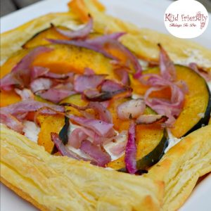 Herbed Cheese & Acorn Squash Puff Pastry Appetizer Recipe