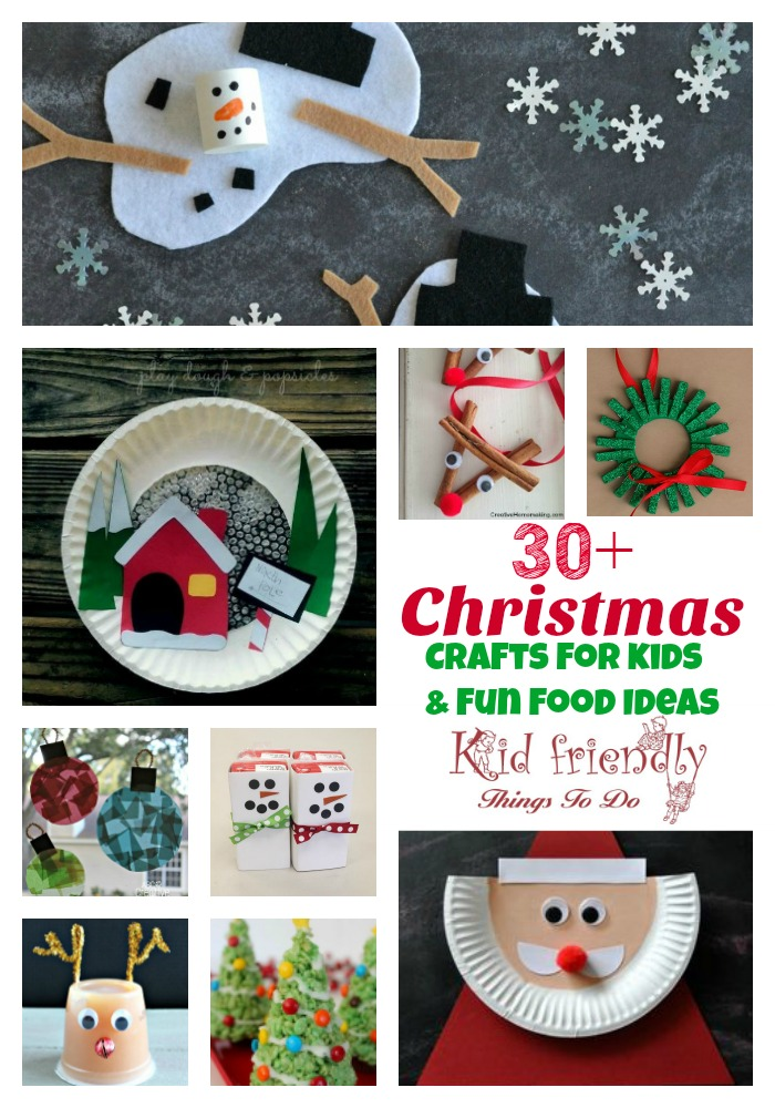 over 30 easy christmas fun food ideas crafts kids can make great for parties