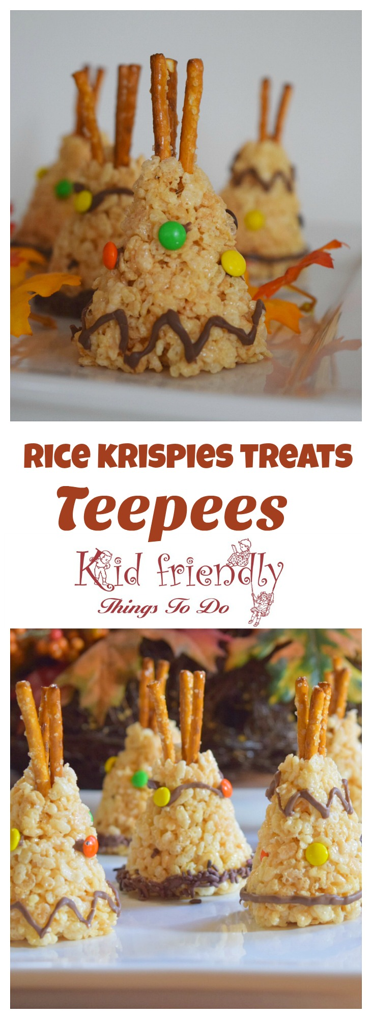 Perfect for Thanksgiving, or a Native American fun food idea for kids. This is such a cute and simple treat for kids! www.kidfriendlythingstodocom