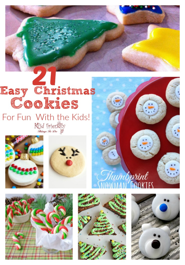 21 Simple Fun And Yummy Christmas Cookies That You Can Make With