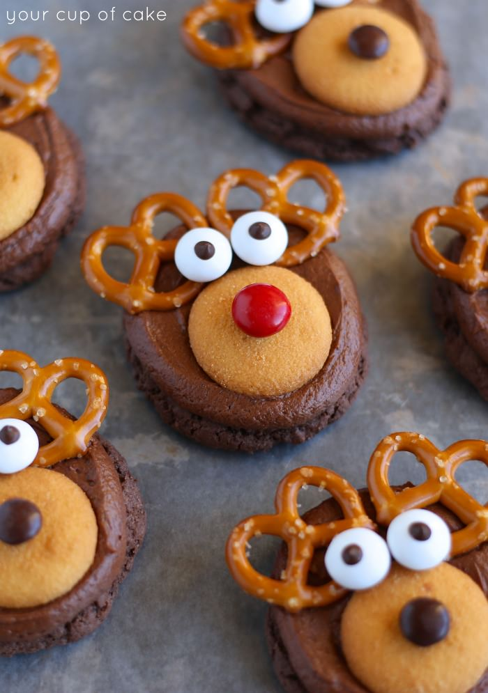 21 of the most simple adorable and yummy looking christmas cookies for the kids to
