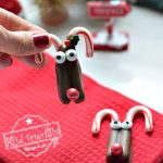 Candy Cane Rudolph for Christmas