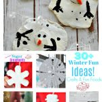 Over 31 Winter Themed Crafts and Fun Food Ideas