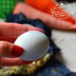 Dye Easter Eggs with Silk Ties