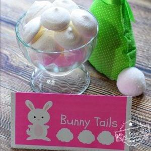 Lemon Flavored Bunny Tails Meringue Cookie Recipe
