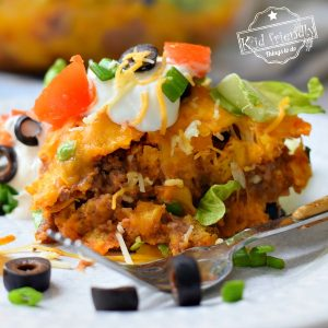 How to make a Dorito Taco Bake