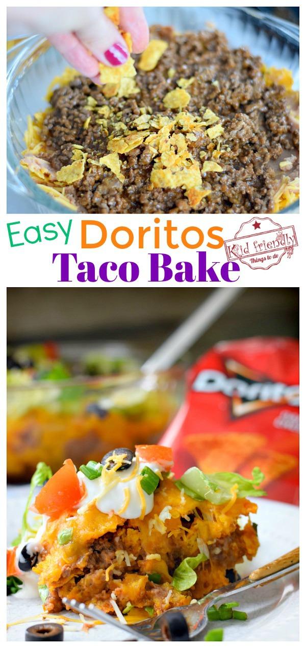 Easy Doritos Taco Bake