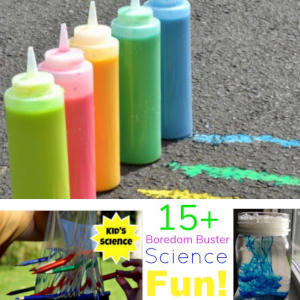 Over 15 Awesome Summer Boredom Buster Science Experiment Ideas to do With the Kids