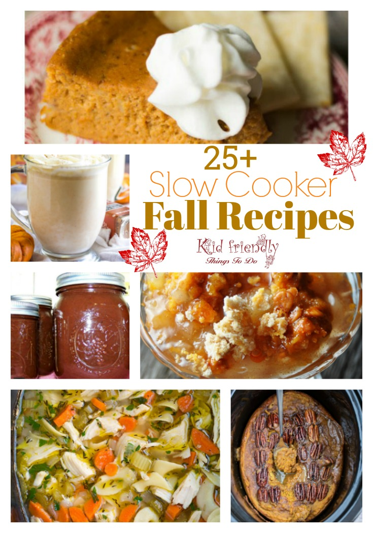 Over 25 Delicious Looking Fall Slow Cooker Recipes to Try