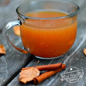 Delicious Mulled Hot Apple Cider Recipe - Slow Cooker - www.kidfriendlythingstodo.com