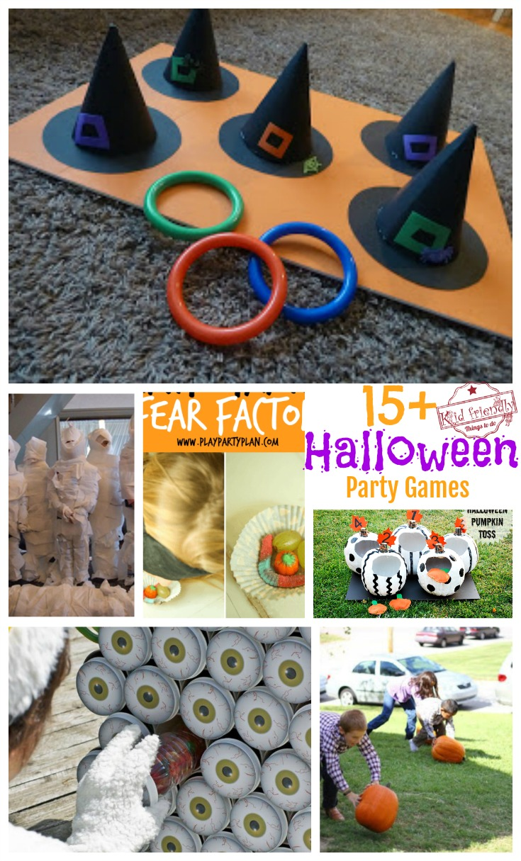 over 15 super fun halloween party game ideas for kids and teens!
