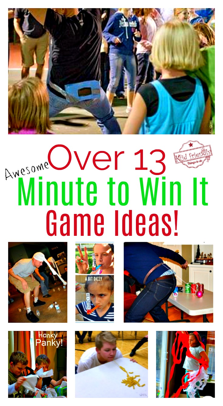 9 Fun Ideas For Minute To Win It Games - IcebreakerIdeas