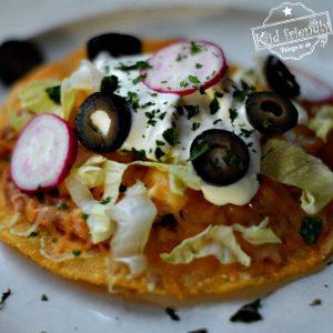 Quick Chicken Tostadas – Easy Mexican Food Recipe