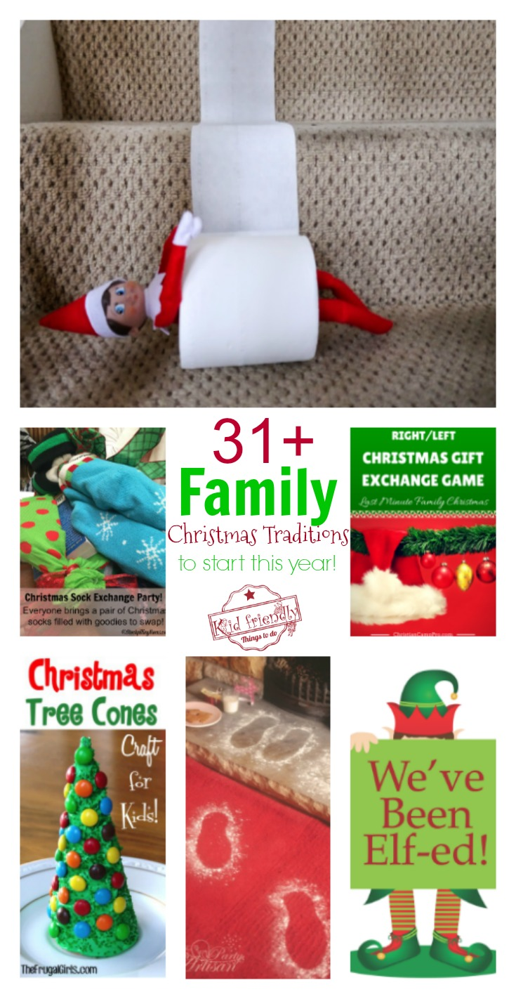 Over 31 Family Christmas Tradition Ideas To Start Making Memories This Year