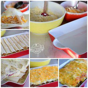 Easy Sour Cream Chicken Enchilada Casserole Recipe - Just Like Mom Used To Make - Delicious, classic casserole the whole family will love . Leftovers are even better! www.kidfriendlythingstodo.com
