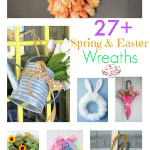 Easter and Spring Wreath Ideas