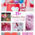 Over 21 Simple Valentine's Day Crafts for Kids to Make