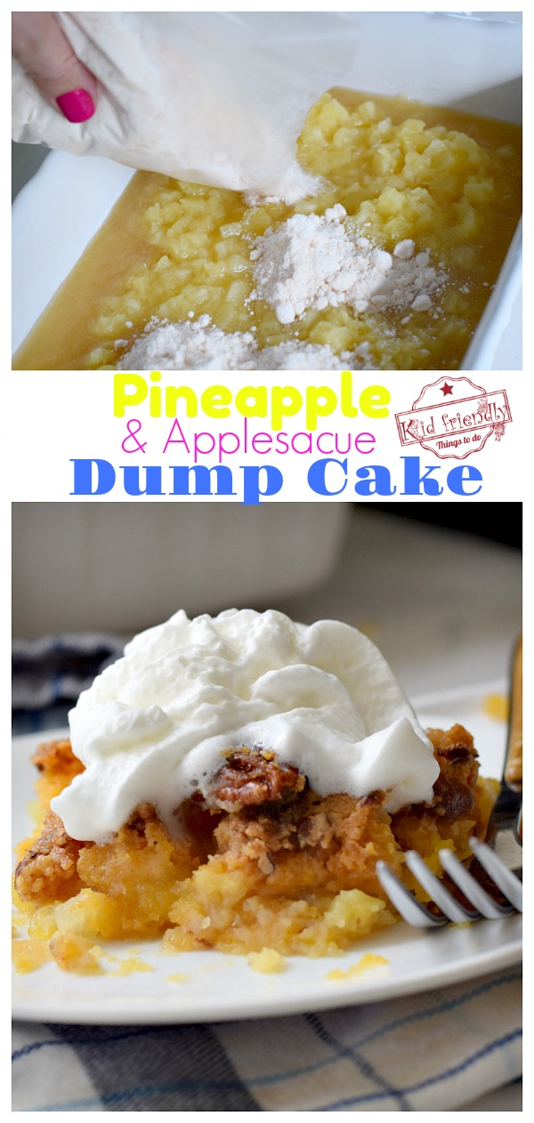 pineapple dump cake recipe