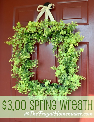 Over 27 DIY Easter And Spring Wreath U0026 Door Decorations   Think Spring!  Bunnies,