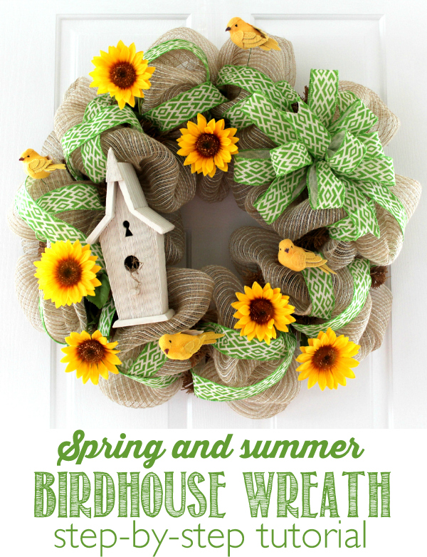 Over 27 DIY Easter and Spring Wreath & Door Decorations - Think Spring! Bunnies,