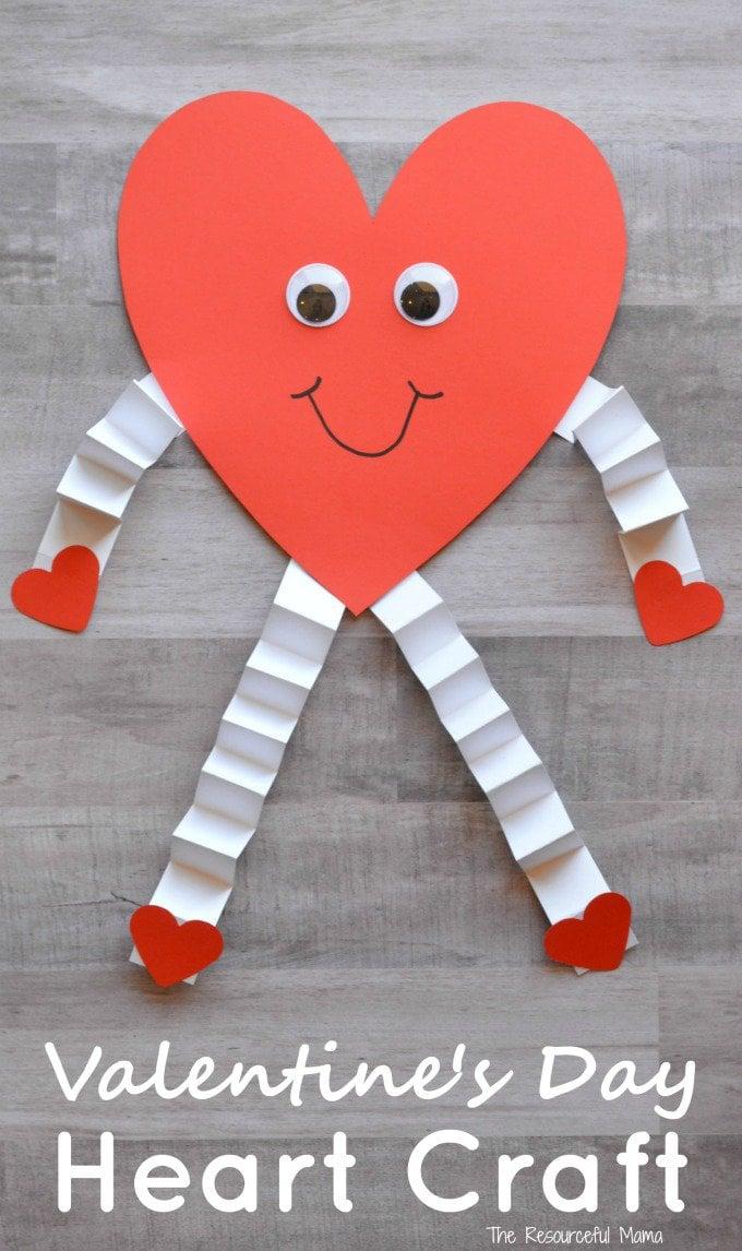 Valentine's day craft for preschooler