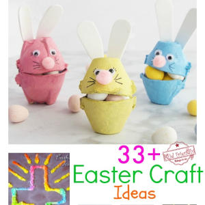 Over 33 Easter Craft Ideas for Kids to Make | Kid Friendly Things To Do