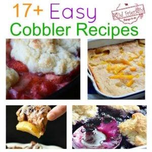 Over 17 Cobbler Recipes