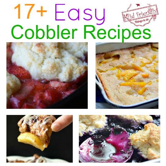 Over 17 Simply Delicious Easy Cobbler Recipes